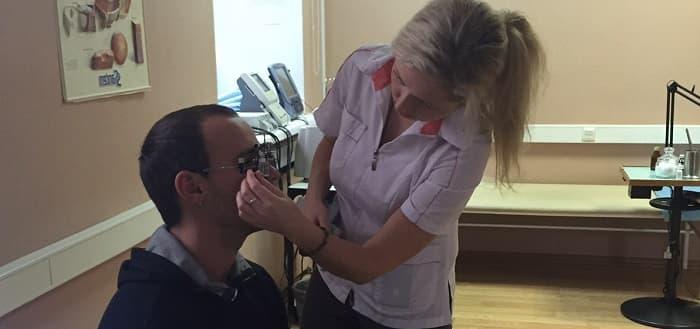 Резь в глазах - диагностика и лечение в МГК